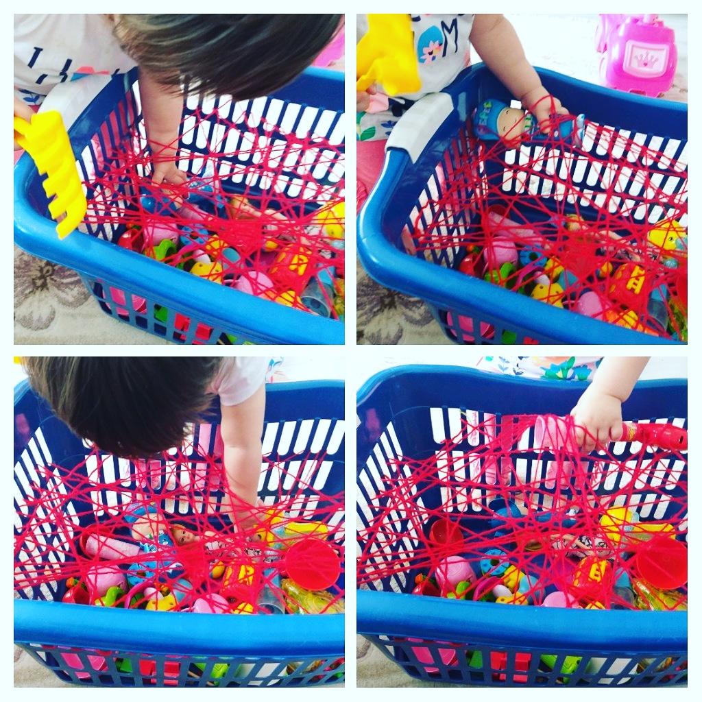 10 Aylık Bebek Montessori Aktiviteleri