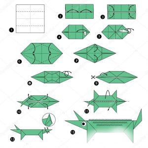 Origami ile Timsak Yapımı