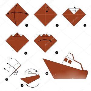 Origami ile gemi yapımı