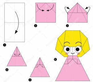 Origami Yapımı prensen